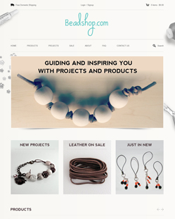 Portfolio of Flat Website Design